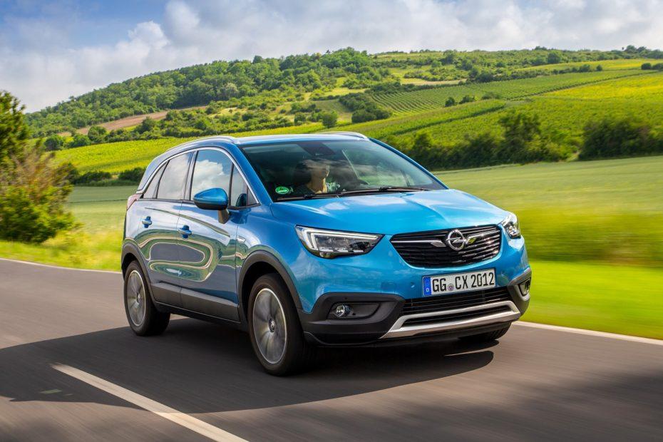 El Opel Crossland X 2018 estrena nuevo motor diésel y cambio automático