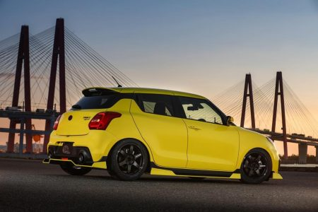 Kuhl Racing lanza un agresivo kit estético para el Suzuki Swift Sport