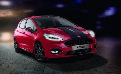 Más colores para el benjamín: El Ford Fiesta ST-Line recibe la serie Red & Black Edition