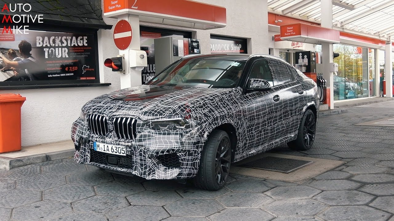 2020 BMW X6 M SPIED TESTING AT THE NÜRBURGRING