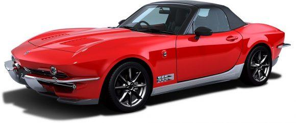 Mitsuoka Rock Star: Un Mazda MX-5 transformado en un Corvette C2