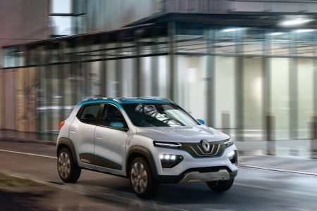 Renault K-ZE: SUV eléctrico con una autonomía de 250 kilómetros
