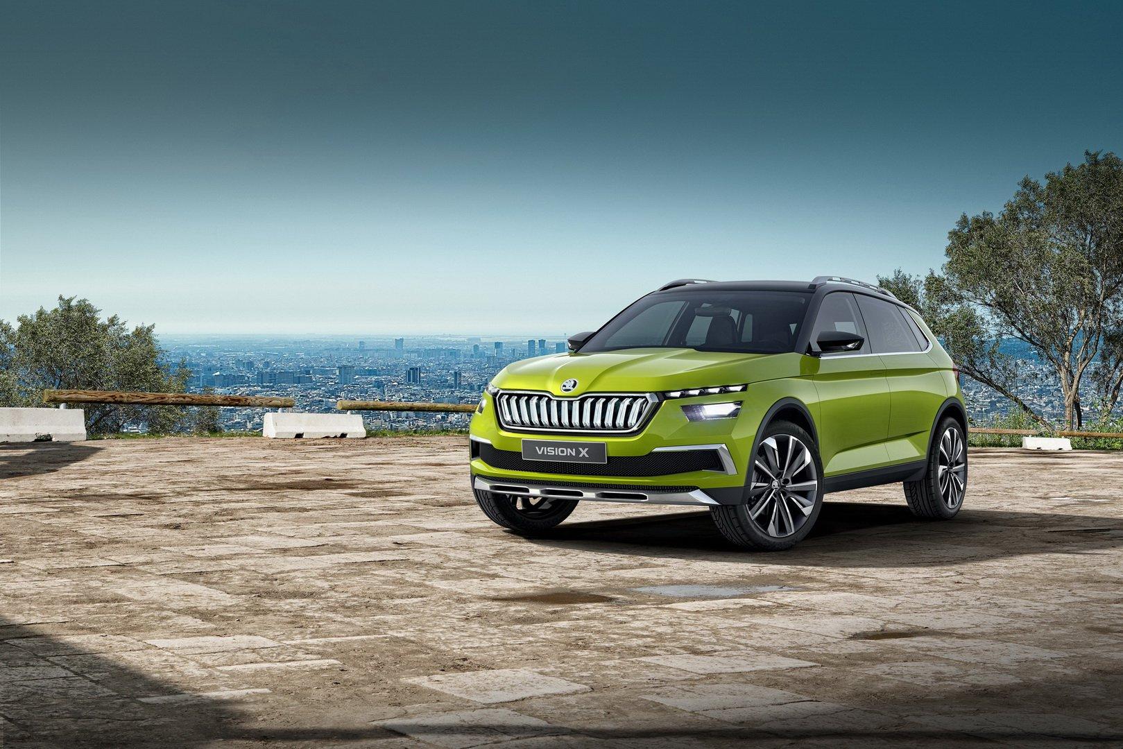 Skoda lanzará un mini SUV para competir con el Nissan Juke