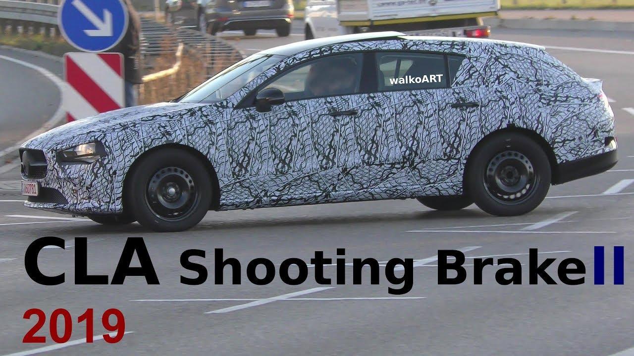 Vídeo: arranca el nuevo Mercedes CLA Shooting Brake