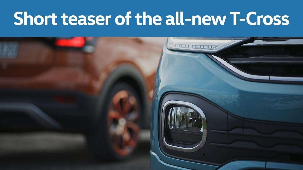 Vídeo: nuevo anticipo oficial del Volkswagen T-Cross