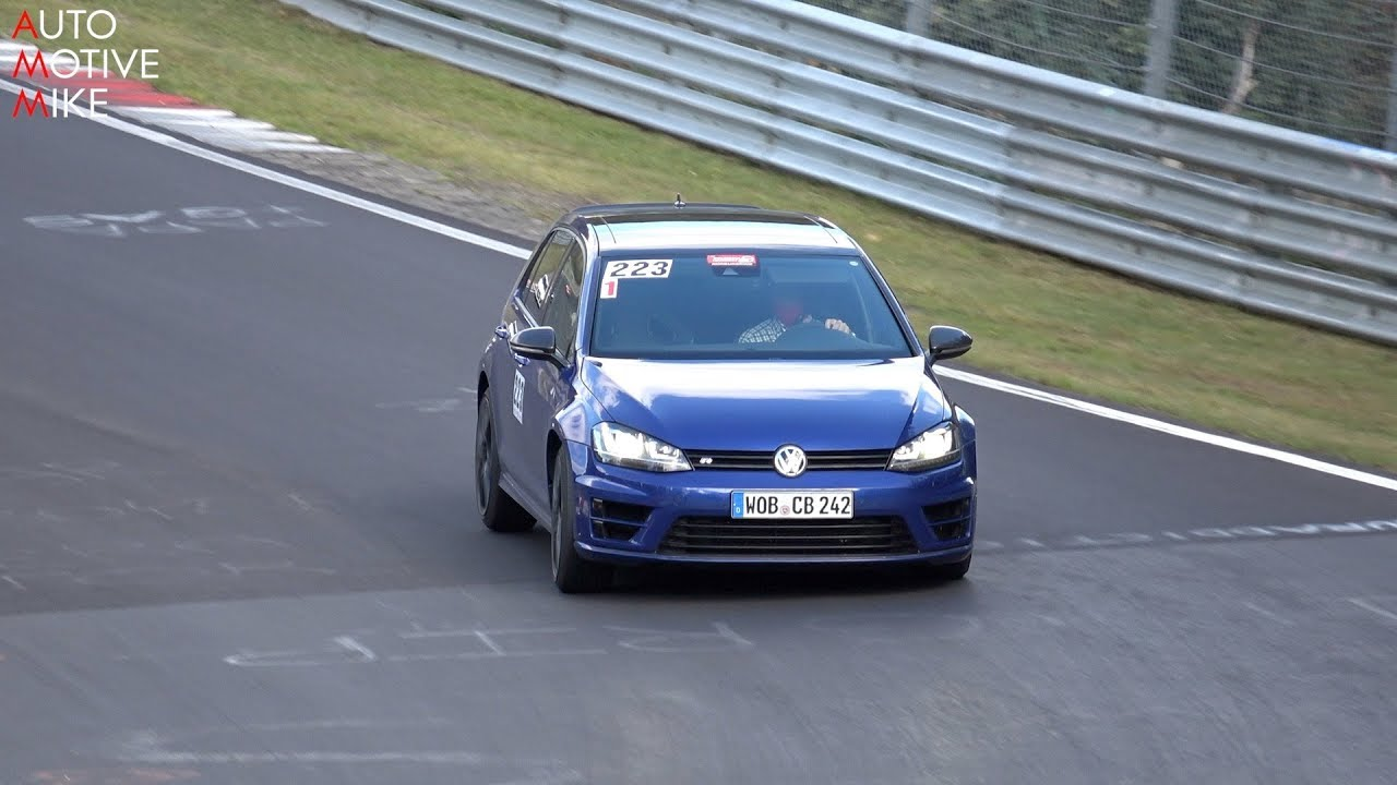 Vídeo: Volkswagen continúa probando el Golf R420, ¡prepárate!