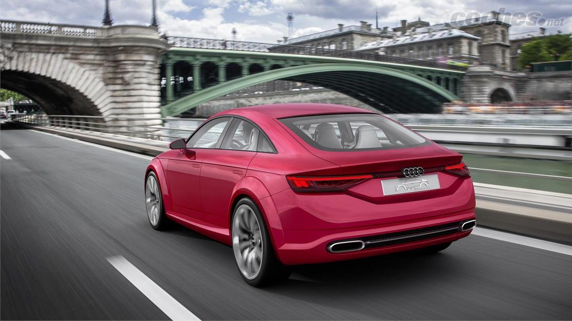 Audi descarta el TT Sportback, pero no es lo que estás pensando