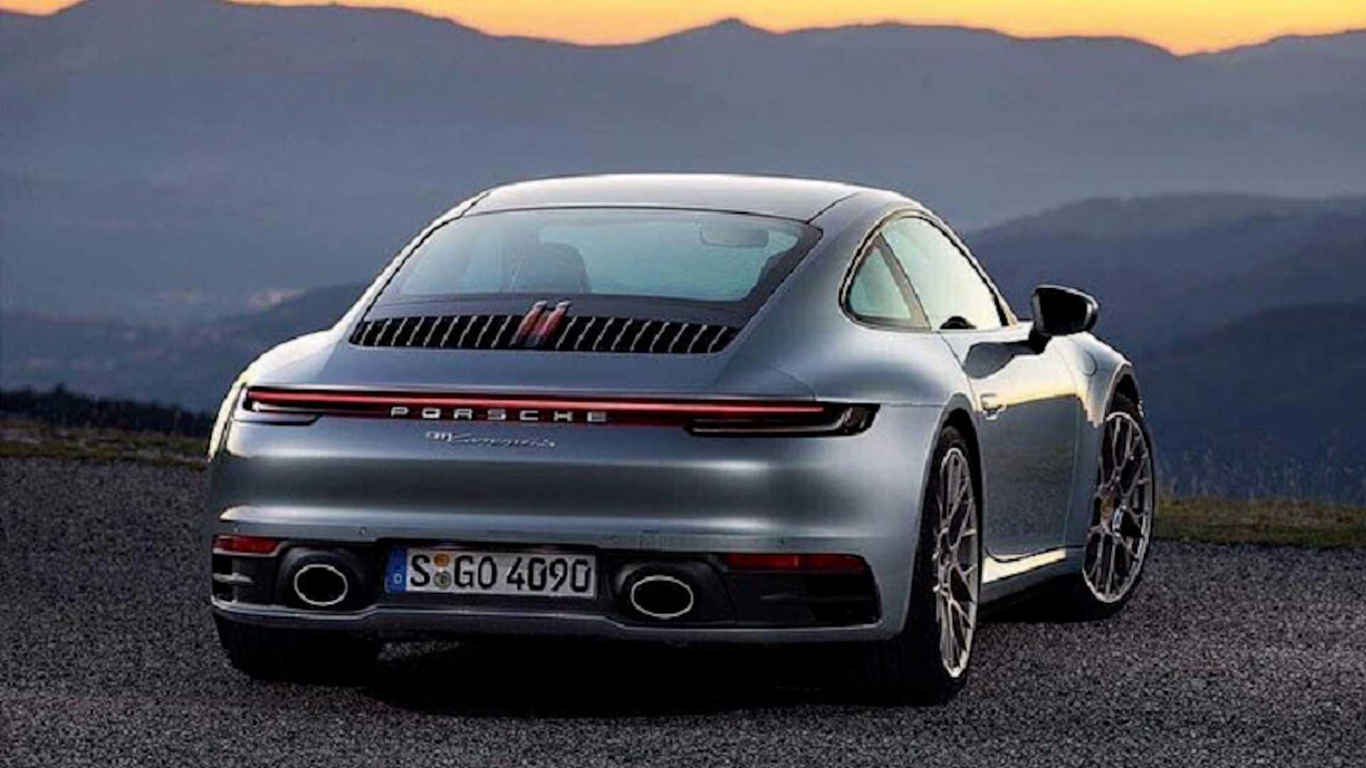¡Filtrado! Primeras imágenes oficiales del nuevo Porsche 911