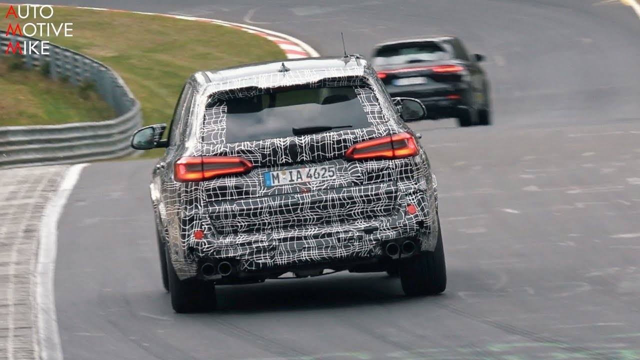 2019 BMW X5 M SPIED TESTING AT THE NÜRBURGRING