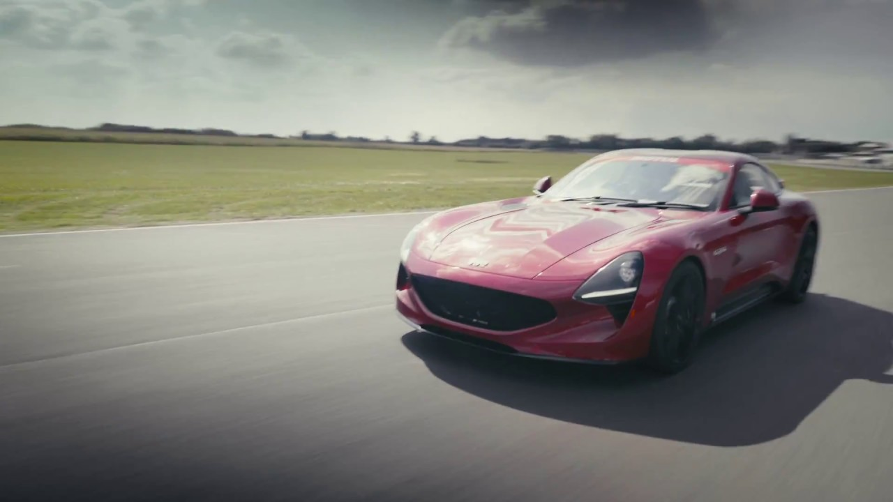 Avon Tyres clad TVR Griffith unleashed at Castle Combe Circuit
