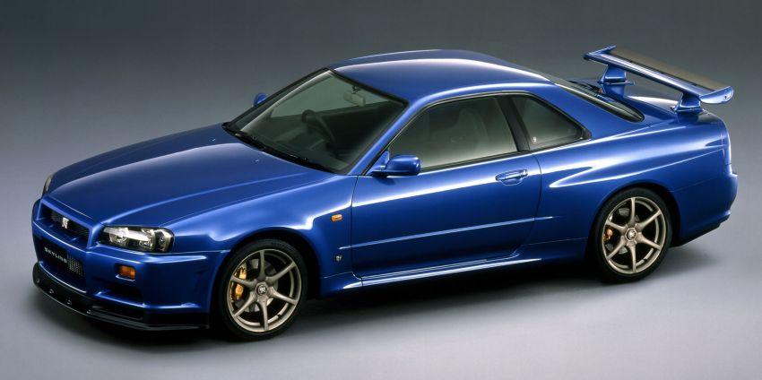 Nissan está fabricando más recambios para los Skyline R33 y R34 GT-R
