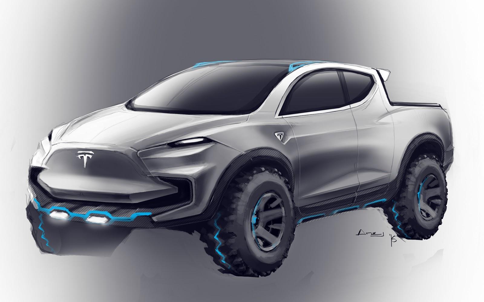 El pick-up de Tesla ya está más cerca: podría llegar en 2019
