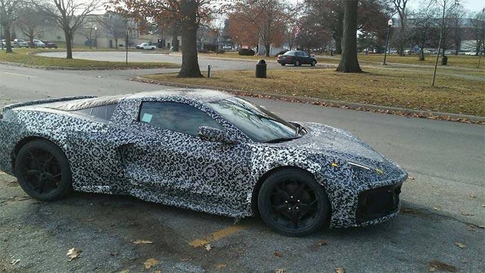 Fotos espía del nuevo Chevrolet Corvette C8: casi al descubierto
