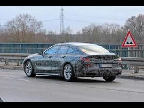 New BMW 8 Series Gran Coupe: revealing spies preview four-door's design