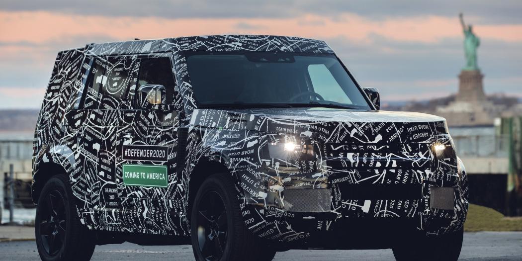 ¡Oficial! Nuevo anticipo del nuevo Land Rover Defender