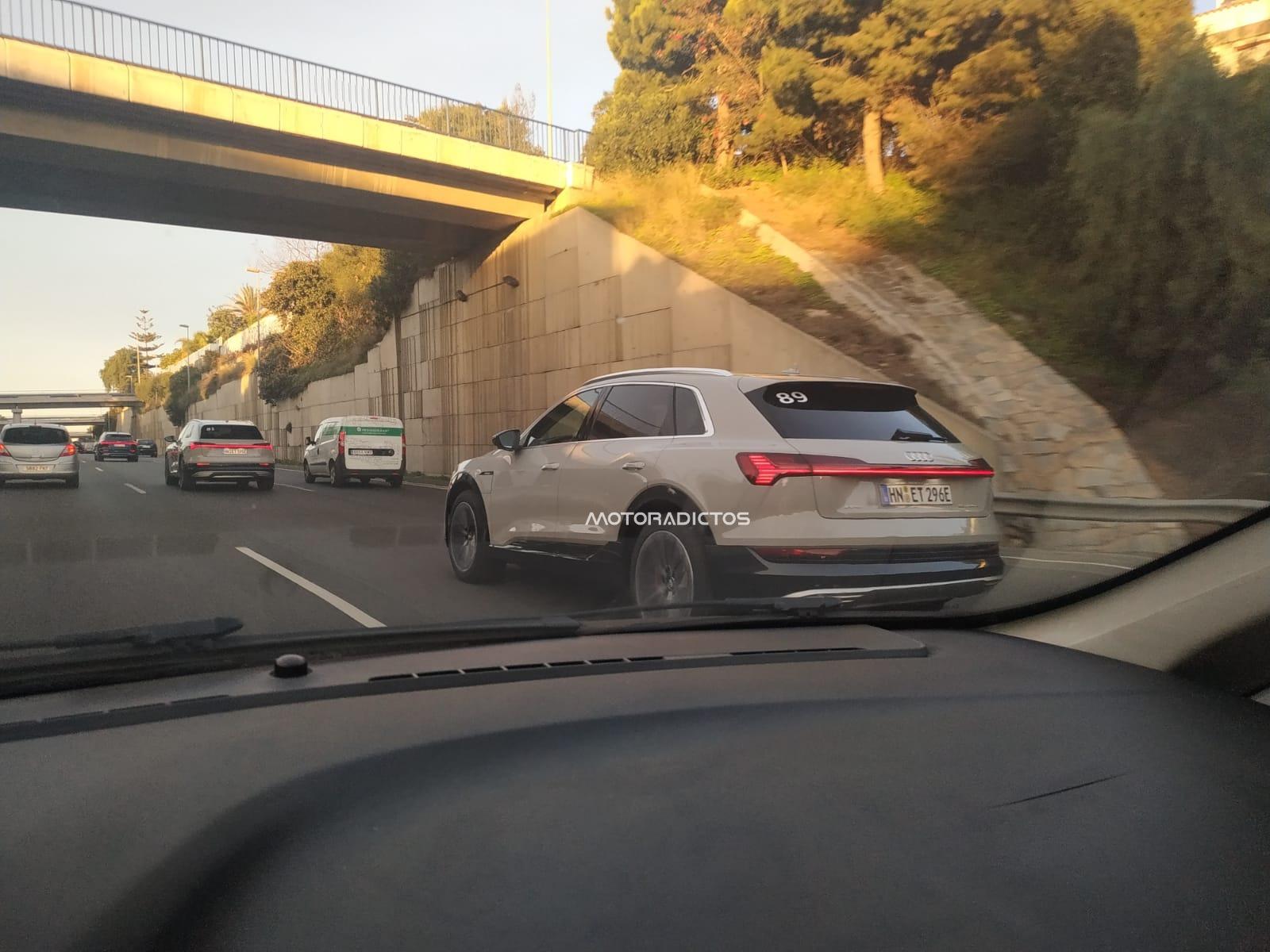 ¡Cazado! Nuevo Audi e-tron, rodando en la Costa del Sol