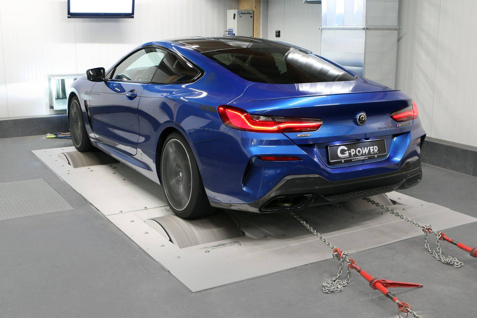 El BMW M850i que G-Power está desarrollando tendrá hasta 670 CV de potencia