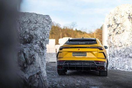 El Lamborghini Urus de Manhart Performance sube hasta los 812 CV