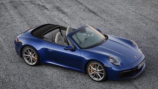 El Porsche 911 prescinde de su techo en el Porsche 911 Cabriolet 2019