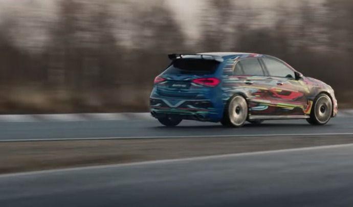 Oficial: el nuevo Mercedes AMG A 45 ofrecerá una potencia descomunal