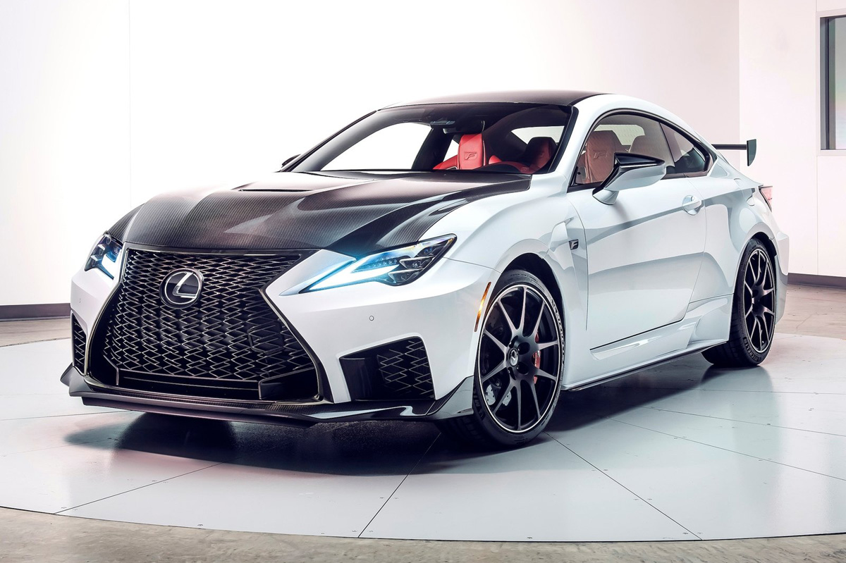 Lexus RC F Track Edition 2019: A por el BMW M4 CS