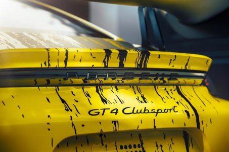 Porsche 718 Cayman GT4 Clubsport: La variante de circuito con más potencia y componentes en fibra natural
