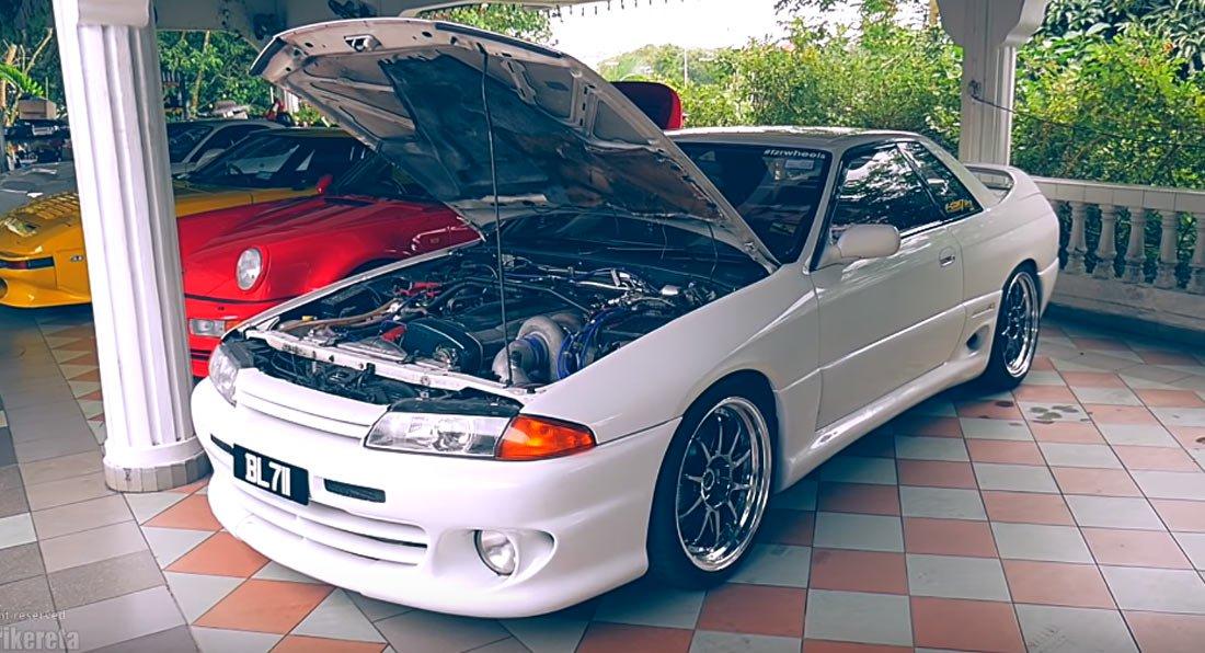 ¿Quieres exclusividad? Este Nissan Skyline R32 HKS Zero-R te la puede dar