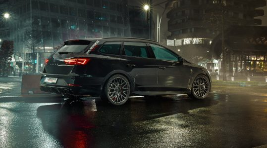 Siemoneit Racing crea un SEAT León ST Cupra más potente que el Mercedes-AMG C63 y Audi RS4