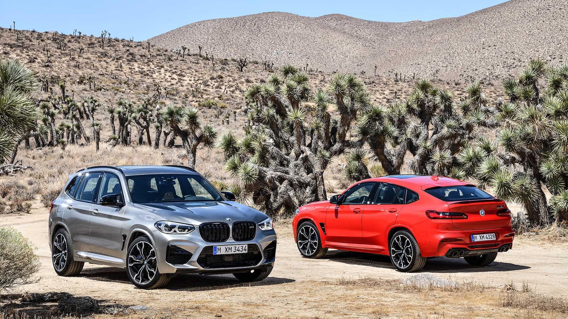 BMW X3 M y X4 M: presentación oficial con versiones Competition