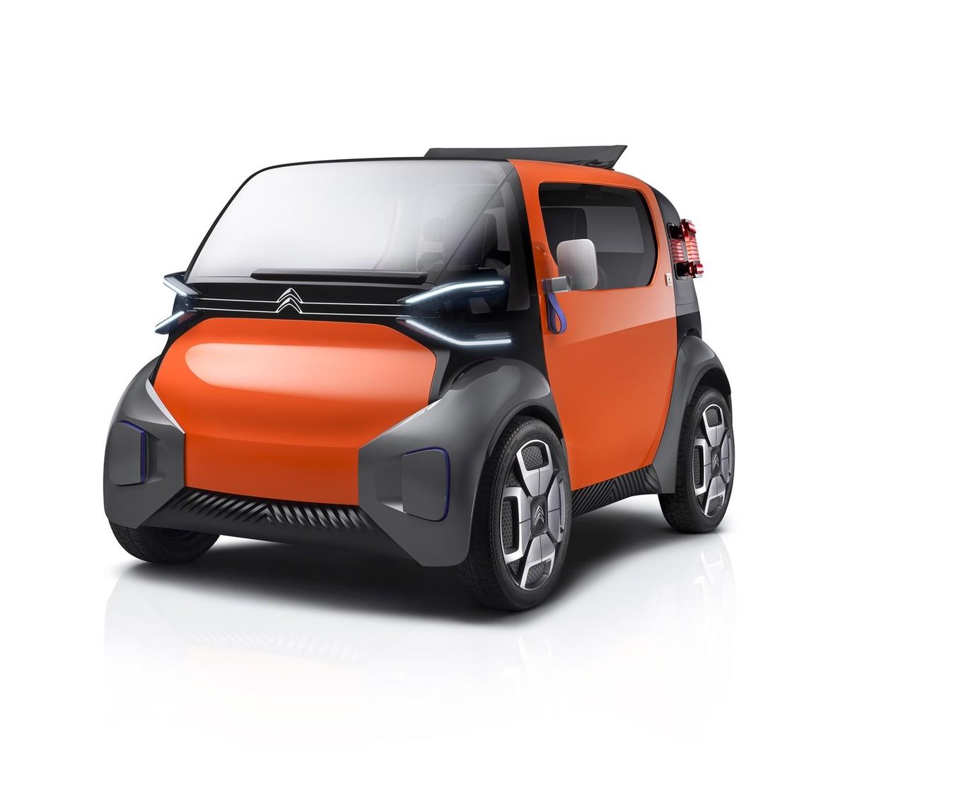 Citroën Ami One Concept: Eléctrico urbano que no necesita permiso de conducir