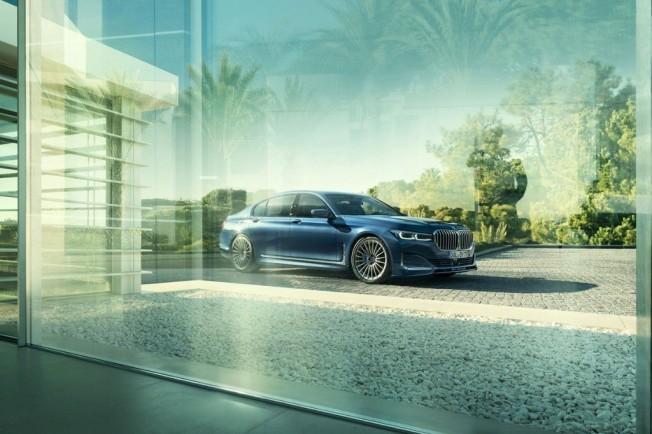 El Alpina B7 2019 llega con 608 CV y con una estética más agresiva: ¡A por el Mercedes-AMG S63!