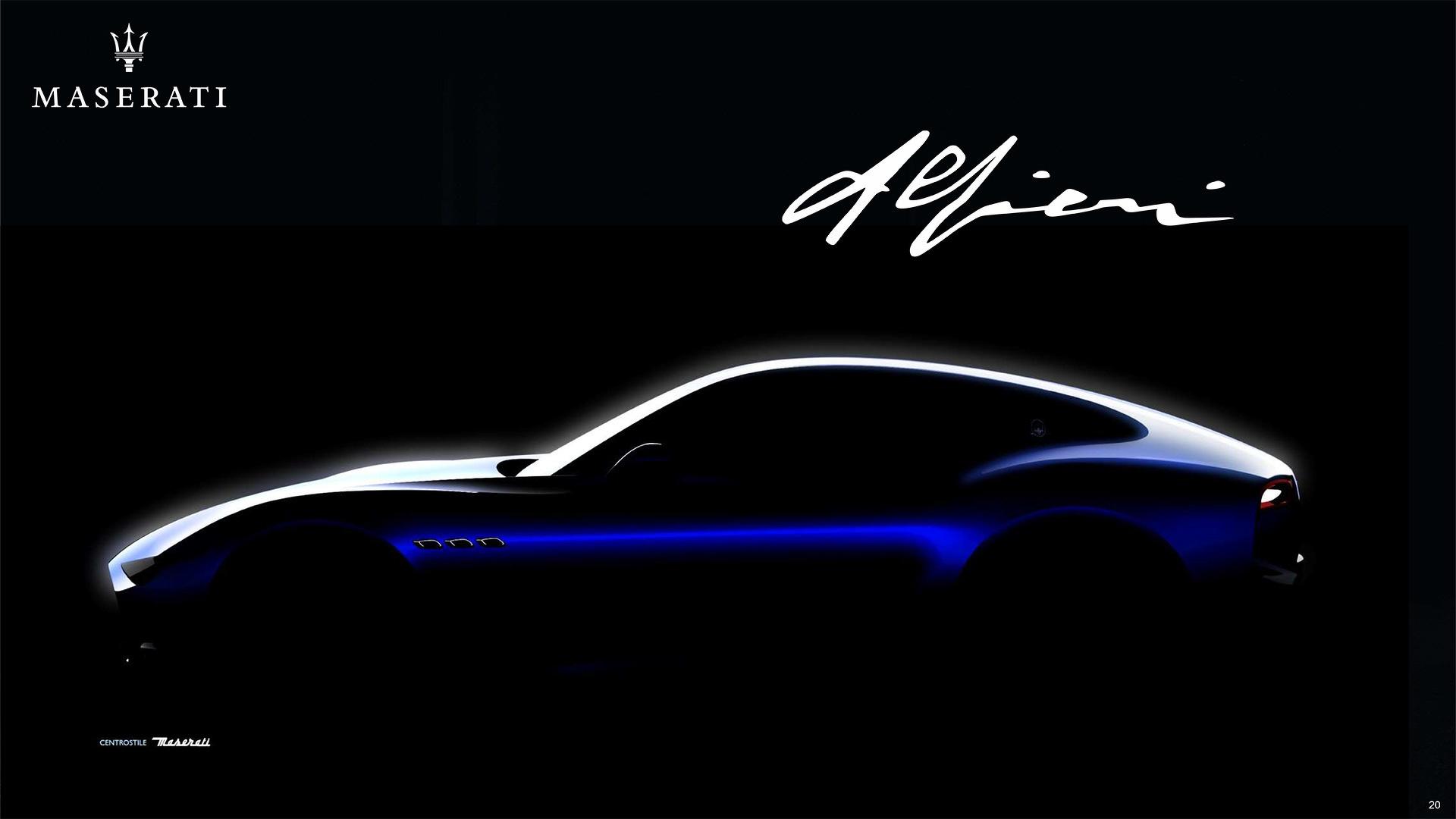 El Maserati Alfieri llegará en 2020: será híbrido y muy rápido