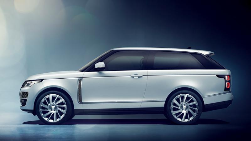 Land Rover da un paso atrás: No producirá el Range Rover SV Coupé