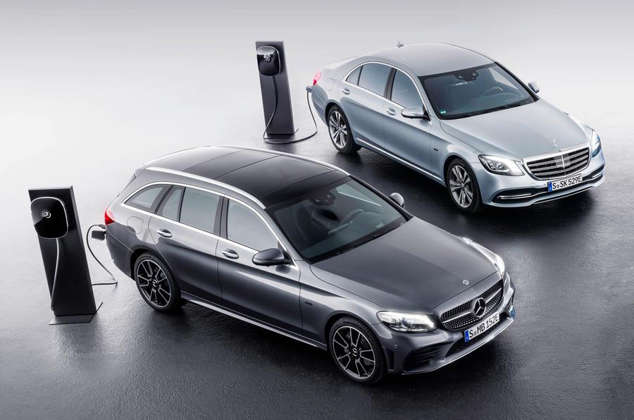 Mercedes quiere contar con diez híbridos enchufables más en su gama este año