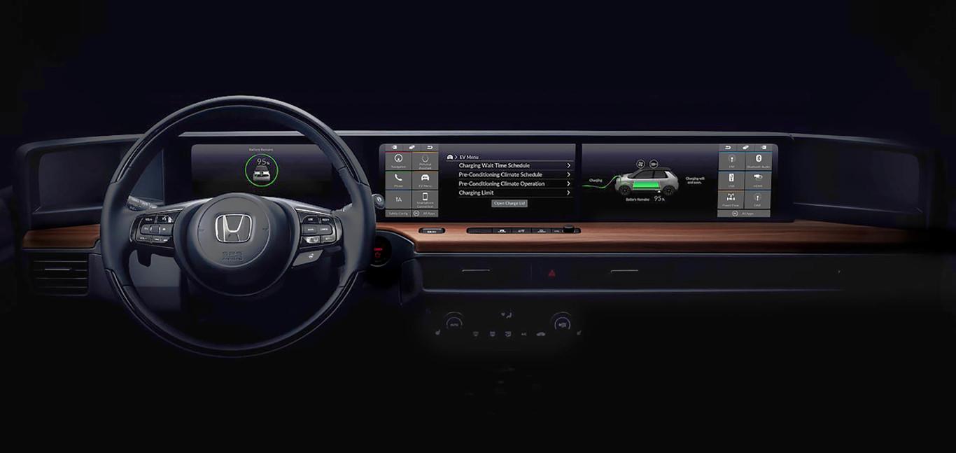 Revelado el interior del Honda Urban EV: El primer coche eléctrico de Honda