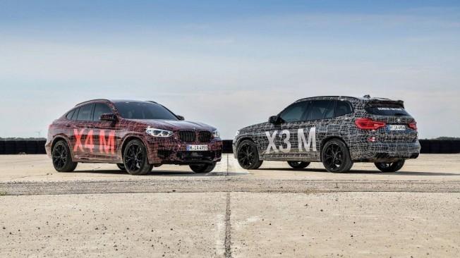 Vídeo: BMW anticipa los nuevos X3 M y X4 M