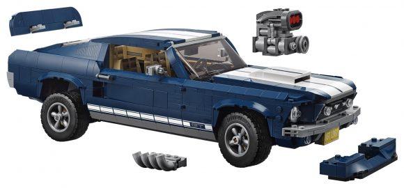 ¡Ya puedes montarte tu propio Ford Mustang del '67 con piezas de LEGO!