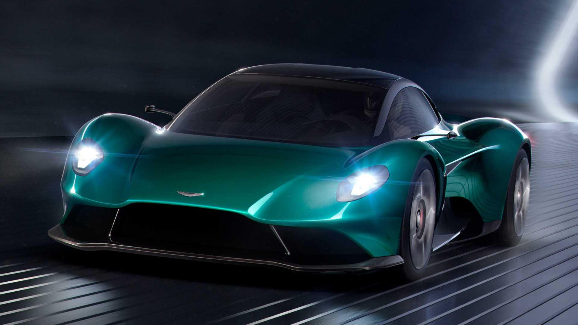 Aston Martin Vanquish Vision: cifras y datos de un modelo real