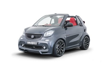 BRABUS Ultimate E Shadow Edition: O cómo enterrar 64.900 euros en un smart eléctrico
