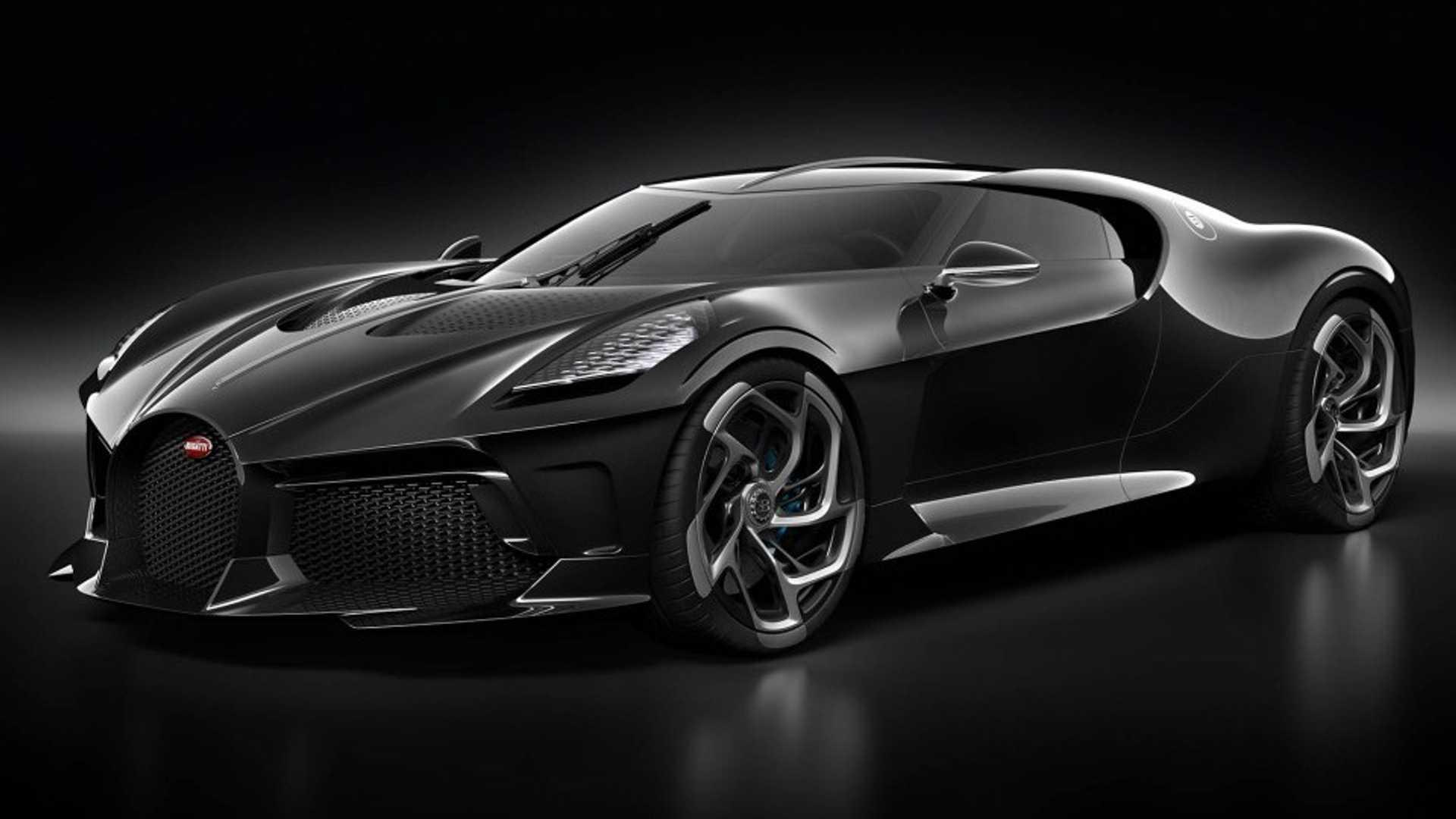 Bugatti La Voiture Noire: vendido en Ginebra por 16.5 millones
