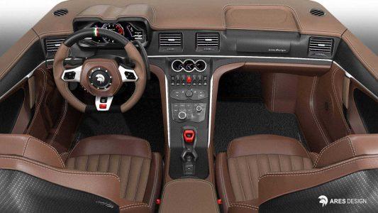 El De Tomaso Pantera vuelve con 650 CV y base de Lamborghini Huracán