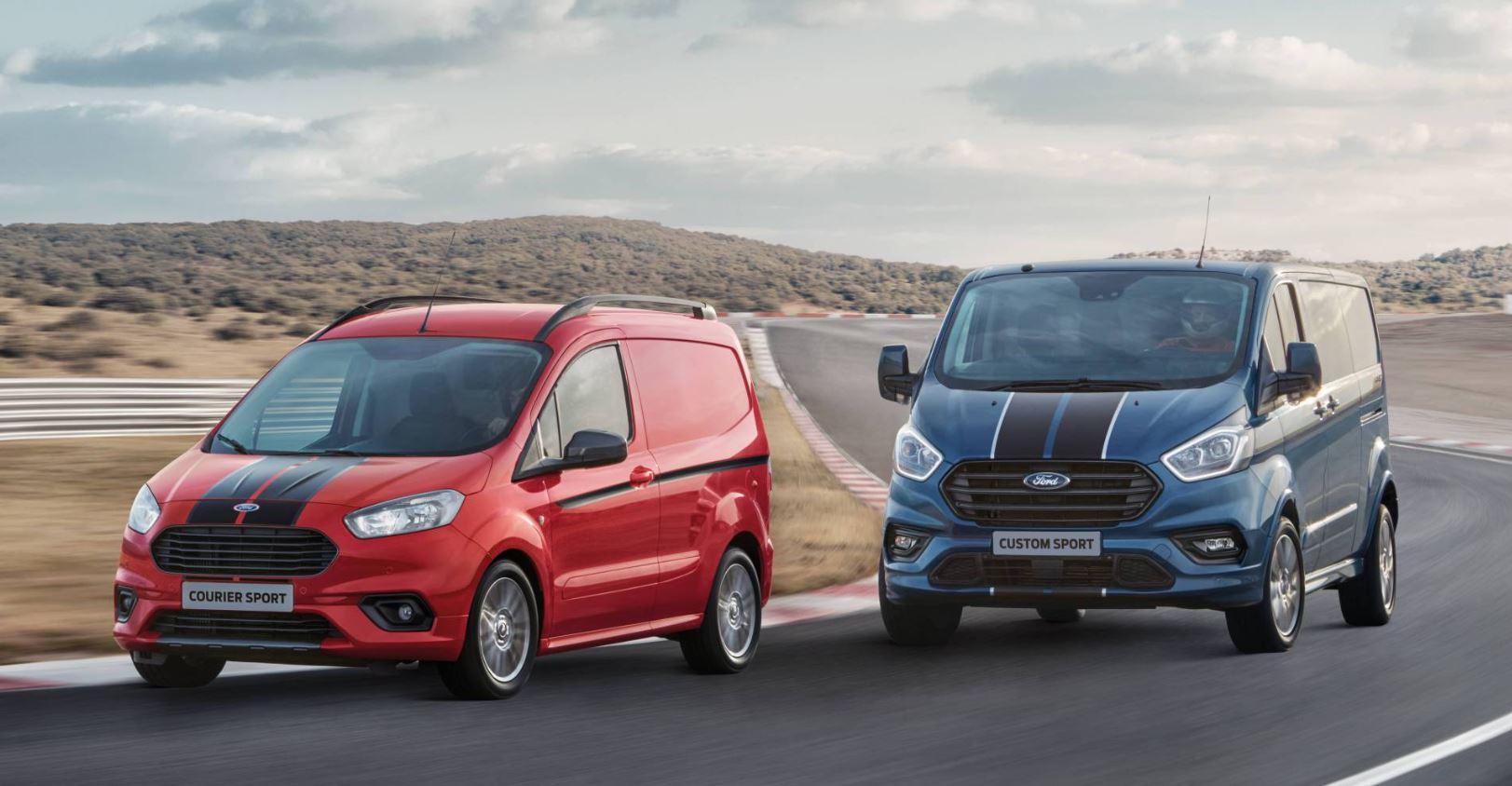 Ford presenta la Ford Transit Custom Sport: ¡Hasta 185 caballos de potencia!