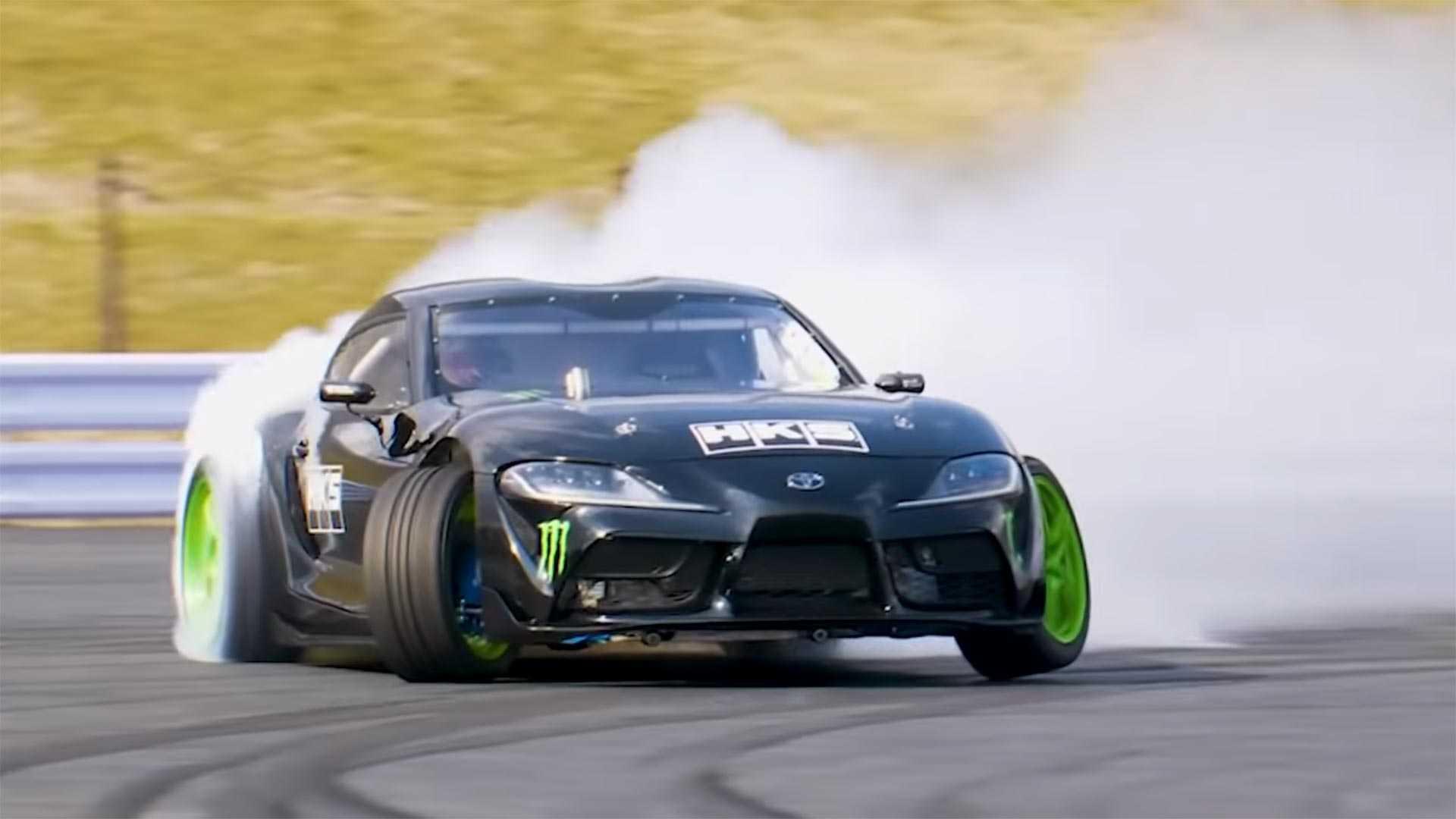 Vídeo: El primer Toyota Supra 2020 con swap a 2JZ-GTE es una máquina increíble de hacer humo