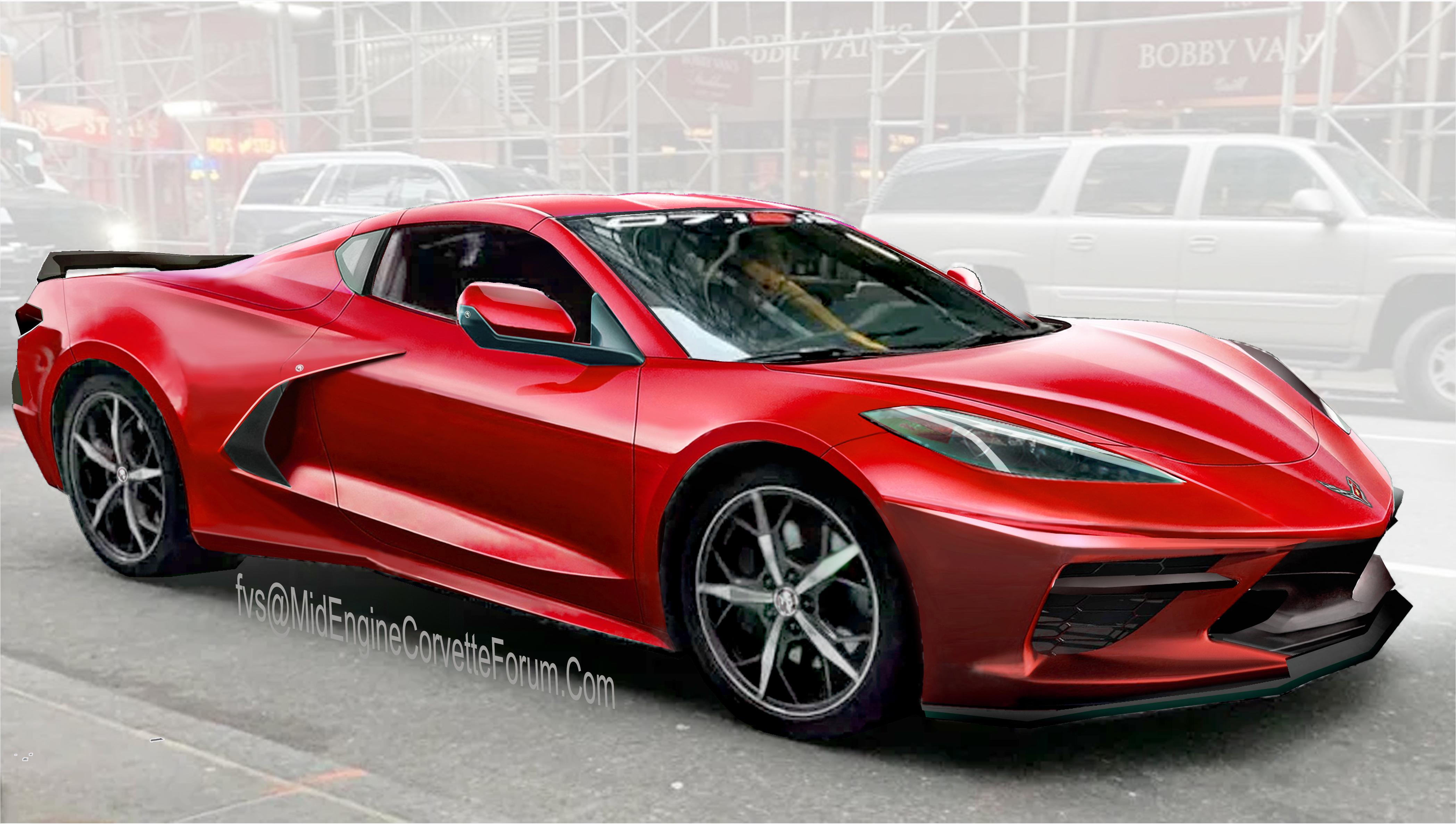 ¡Bombazo! Así es el nuevo Corvette C8