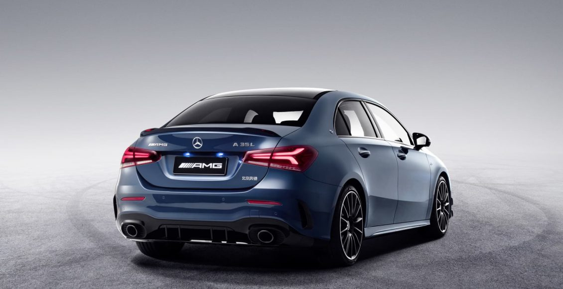 Der neue Mercedes-AMG A 35 L 4MATIC: Mehr Raum für alle Fälle – exklusiv für den chinesischen Markt