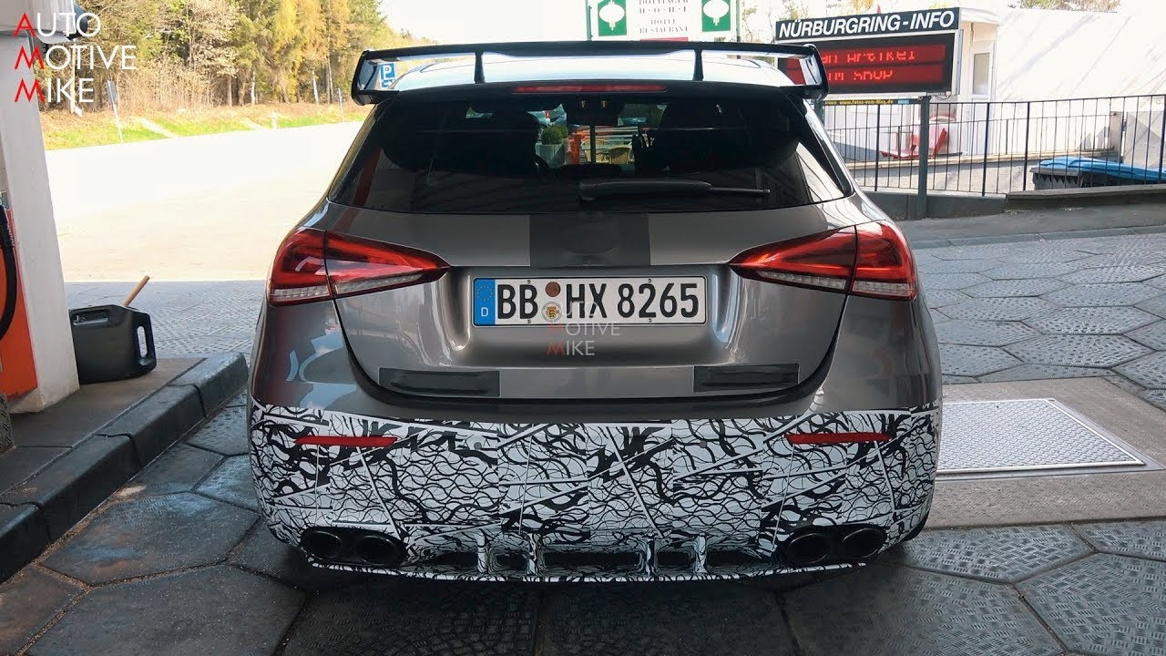 2020 MERCEDES-AMG A45 SPIED TESTING AT THE NÜRBURGRING