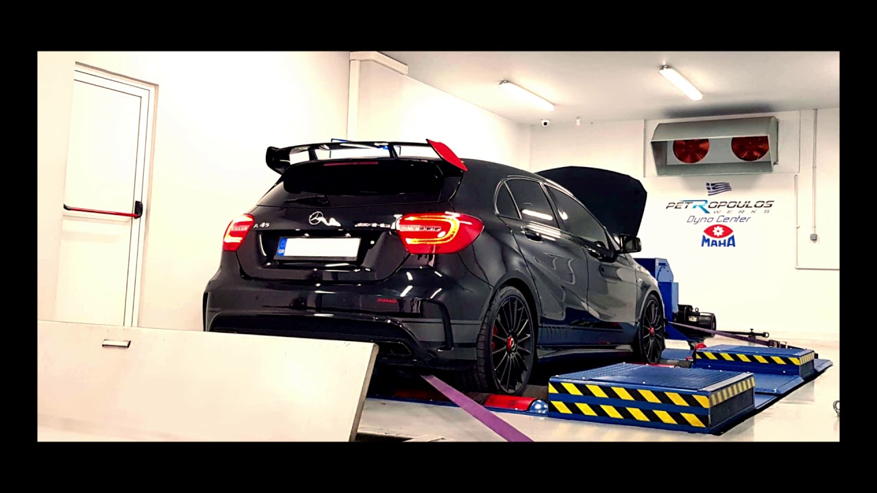 World's most powerful Mercedes Benz A45 AMG