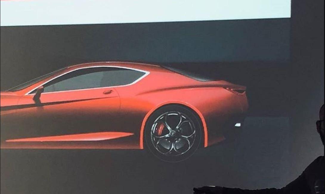 Primera imagen oficial del nuevo Alfa Romeo GTV