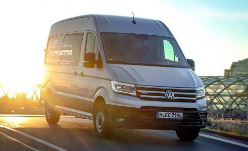 Ya disponible en España la Volkswagen e-Crafter eléctrica: 170 km de autonomía y un precio de 81.130 euros