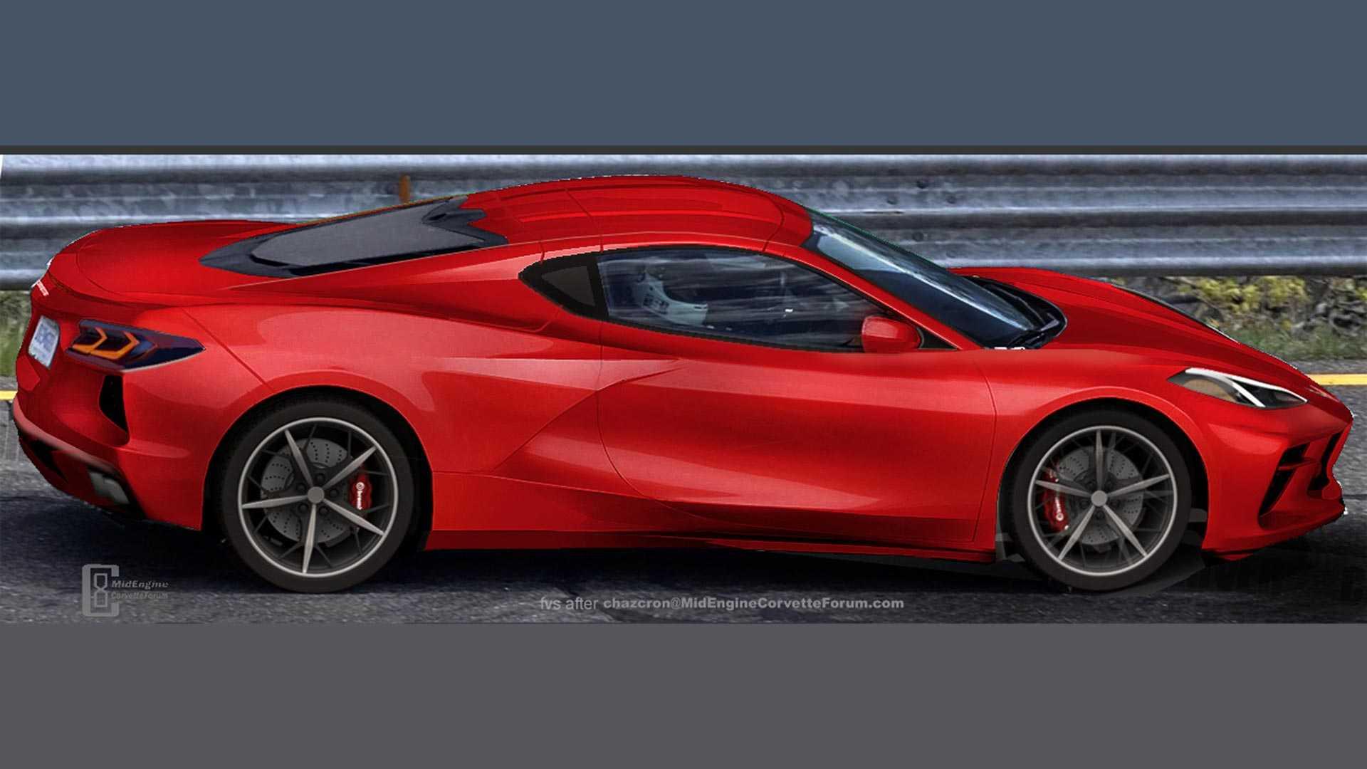 Este será el aspecto del nuevo Corvette de motor central